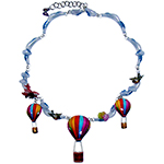 Collier Mongolfiere